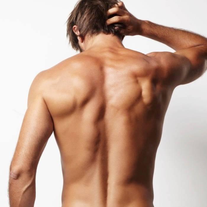 Depilación láser espalda masculina